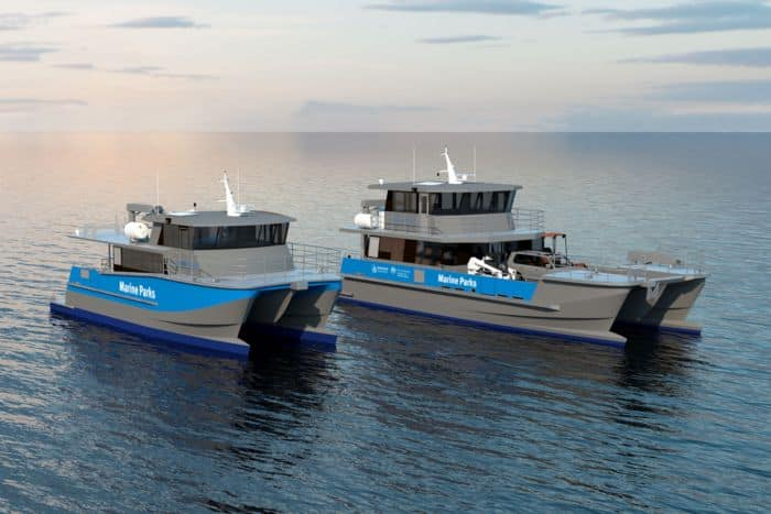 Incat Crowther Launches New Generation Patrol Boat To Protect The Great Barrier Reef