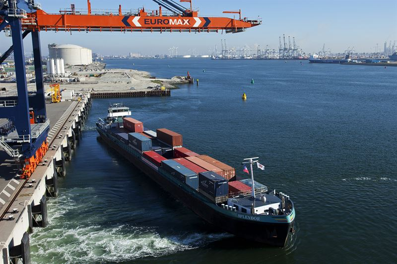 Inland Container Shipping, Port of Rotterdam
