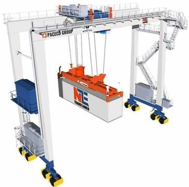 MOL & Mitsui E&S Machinery To Introduce Hydrogen Fuel Port Cargo Handling Machineries