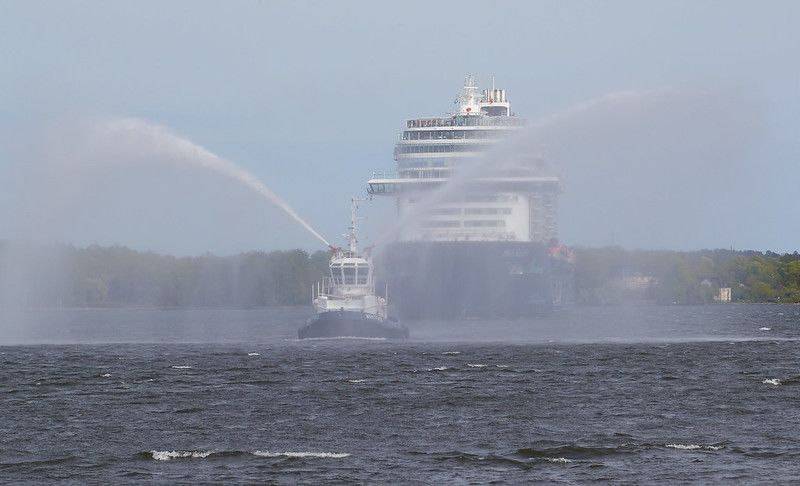 Mein Schiff 1 on it´s way to Stockholm