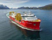 Nexans-Aurora_CR-Nexans_Ulstein_Per-Eide-Studio - Nexans Aurora on sea trial, photo Per Eide Studio