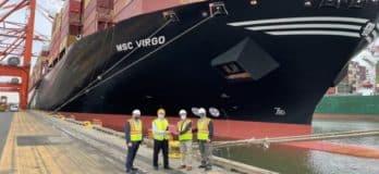 Port Newark Welcomes MSC Virgo