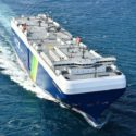 Sakura Leader, which entered the NYK fleet last month, is the first LNG-fueled PCTC to be built in Japan
