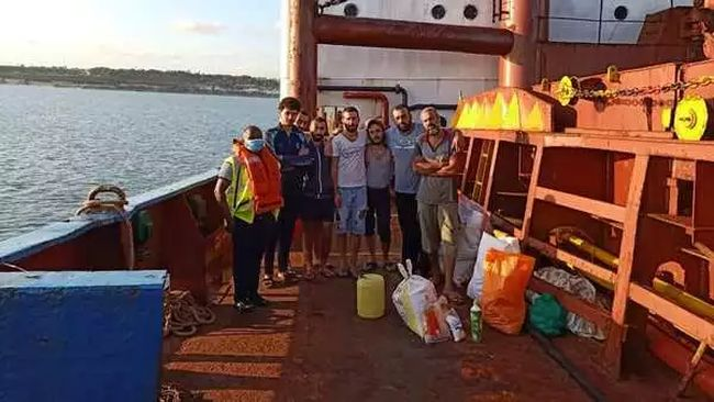 Syrian Crew Stranded in Kenya for 18 months - Rev. Moses Muli Mission to Seafarers