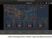Video showing online tanker cargo handling simulator