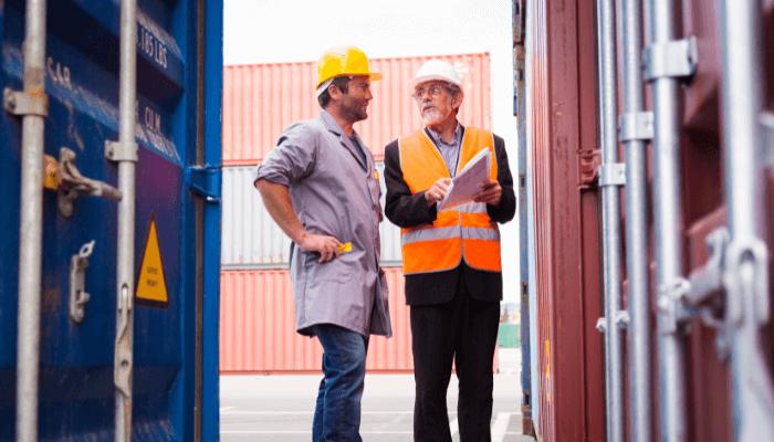 container surveyor career