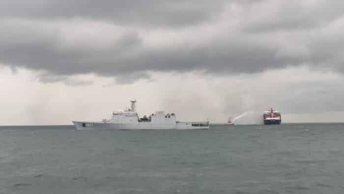 fire broke out onboard MV X-PRESS PEARL