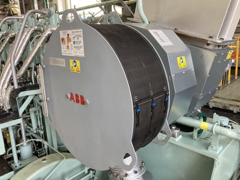 ABB's A255-L turbocharger