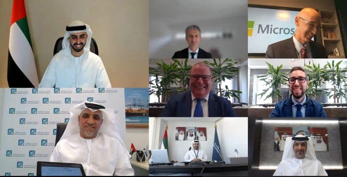 Abu Dhabi Terminals and Microsoft Cooperation enhance container tracking and autonomous shuttle capabilities via the Azure cloud.
