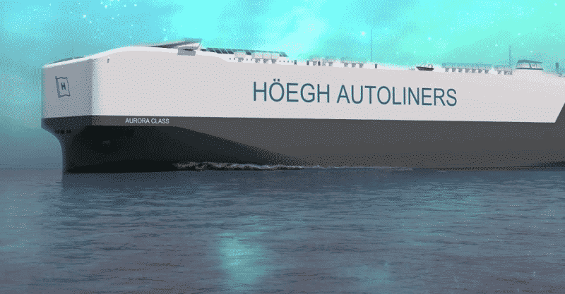 Aurora class with borealis - hoegh autoliners