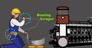 Bearing Scraper on Ships