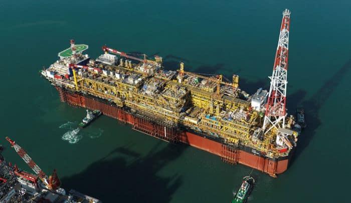 FPSO built by Daewoo Shipbuilding & Marine Engineering
