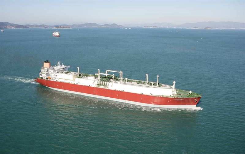 LNG carrier owned by Qatar-based Nakilat.