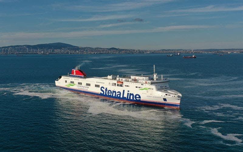 Lengthened Vessel Stena Scandica - Stena RoRo