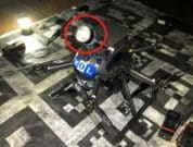 MOL and ACSL Use Flying Drone to Conduct Autonomous Inspection of Vessel Holds under non GNSS and dark environment
