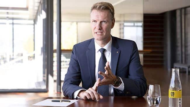 MSC CEO SOREN TOFT