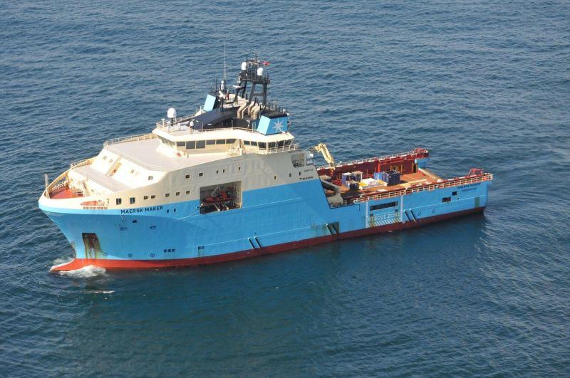 Maersk Maker North Sea 2021