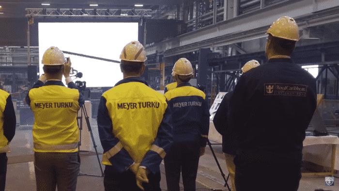 Meyer Turku - Royal Caribbean workers