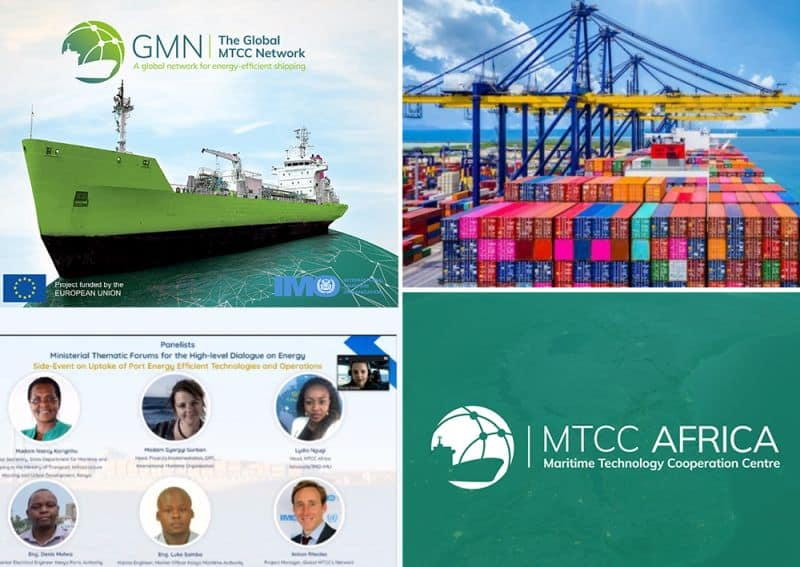 Energy efficiency in ports to support maritime decarbonization