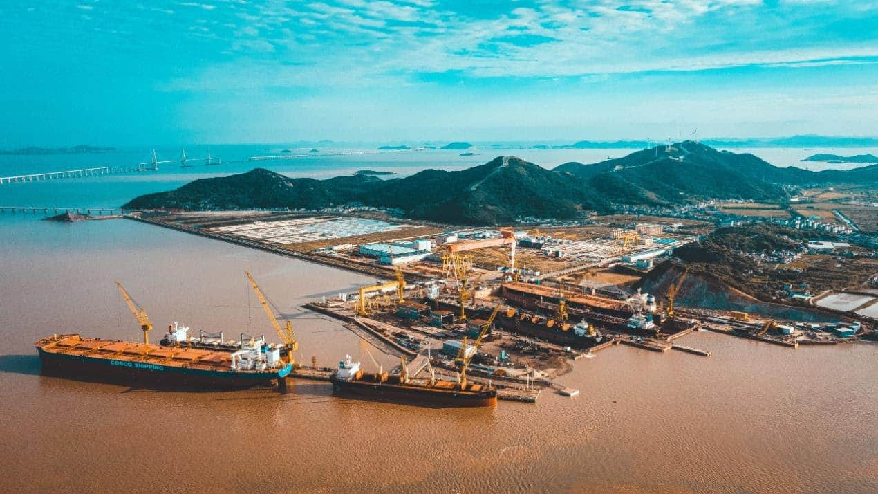 Newport Shipping has access to a wide global network of partner shipyards, including PaxOcean Zhoushan Shipyard in China.