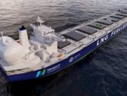 Newport Shipping's LNG retrofit concept for the Capesize vessel class. Credit - NEWPORT SHIPPING