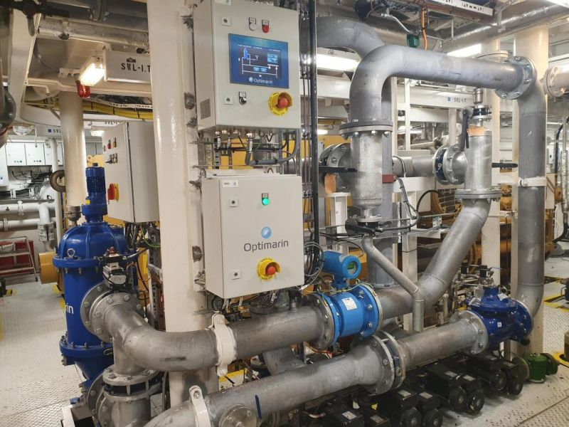 Optimarin's ballast water treatment system is based on proven and reliable technology