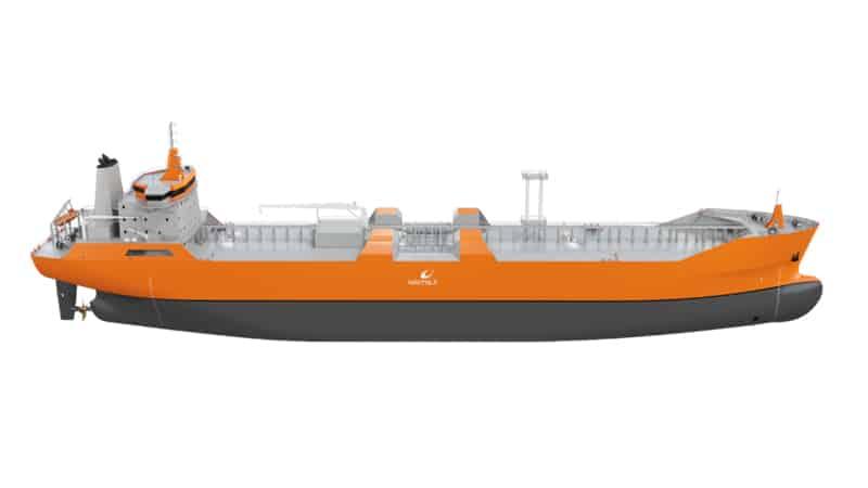 Pan Ocean and Korea Lines' new 18,000 cbm LNG bunkering vessels will feature Wärtsilä's advanced cargo handling system