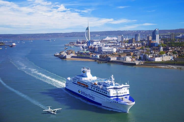 Seaglider Brittany Ferries and REGENT
