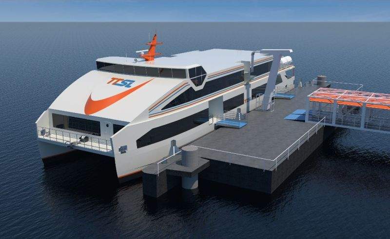 Ship terminal design for new electric ferries