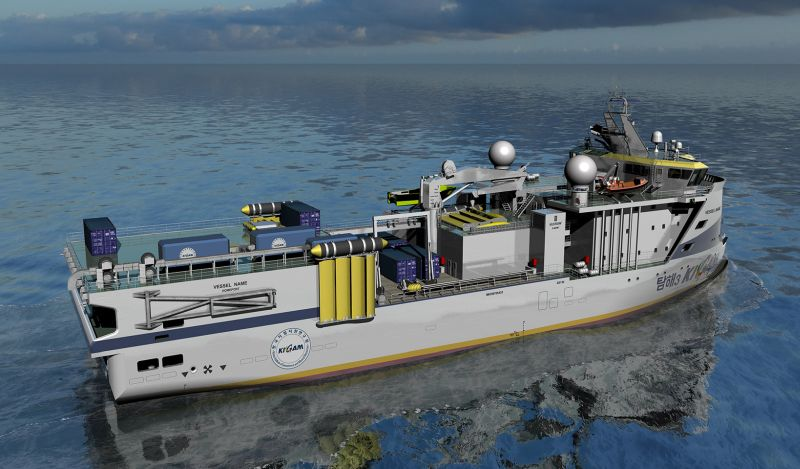 ULSTEIN DESIGNS RESEARCH VESSEL FOR KIGAM -