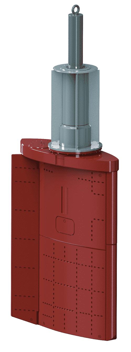 Van der Velden BARKE® high-lift flap rudder