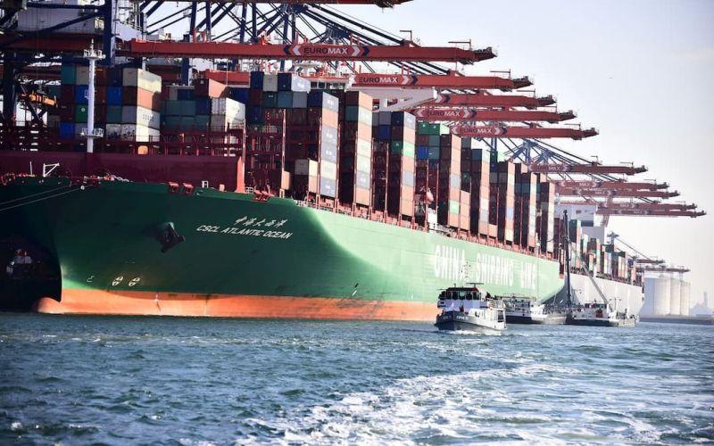 cscl atlantic ocean containerschip