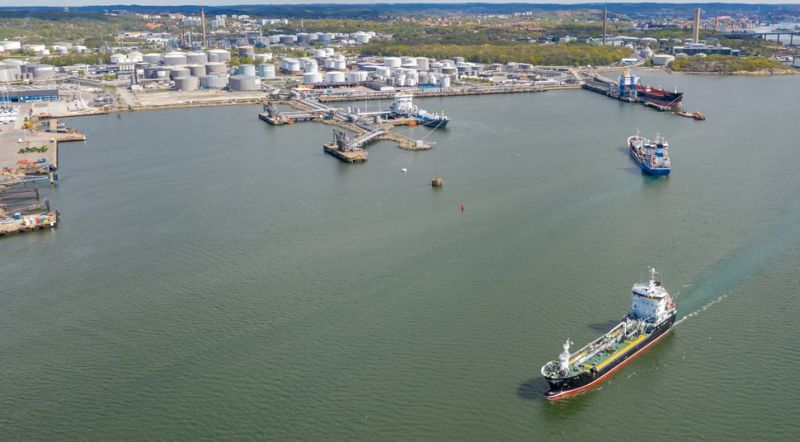 Quays 519, 520 and 521 are some of the port's busiest. They will all offer shoreside power starting 2023