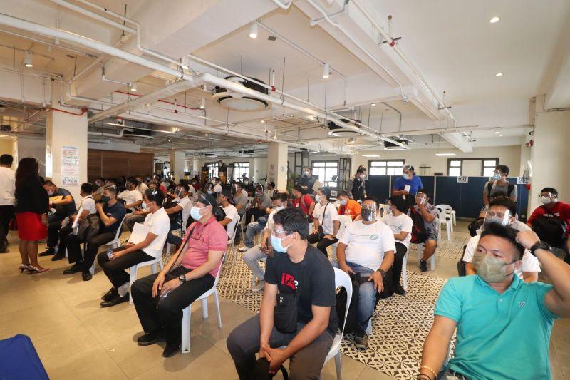 filipino seafarers vaccination on DOTS