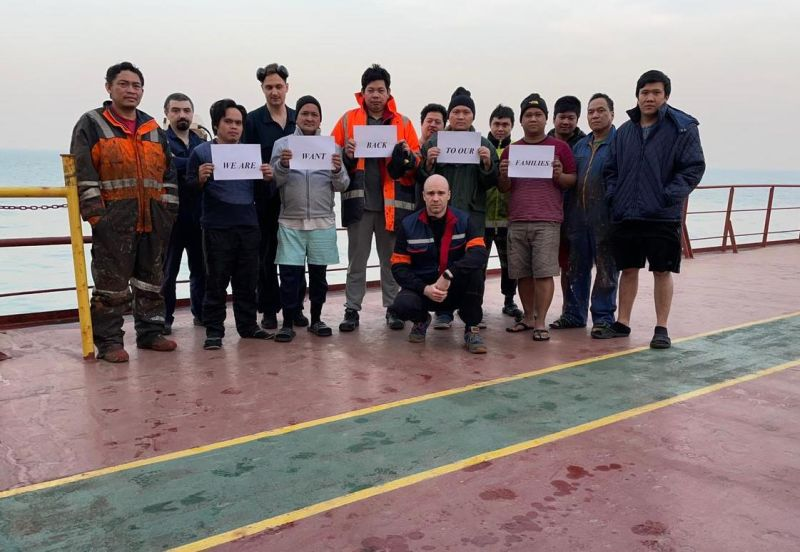 we want to go back to our families - seafarers plea