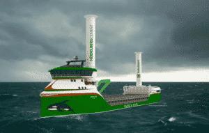 zero emission bulkship