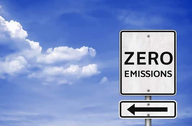 Zero,Emissions,-,Road,Sign,Information