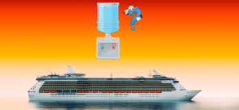 Drinking water in cruise ship