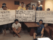 Crew from MV Angelic Power
