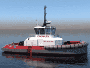 Crowley US First fully electric tugboat