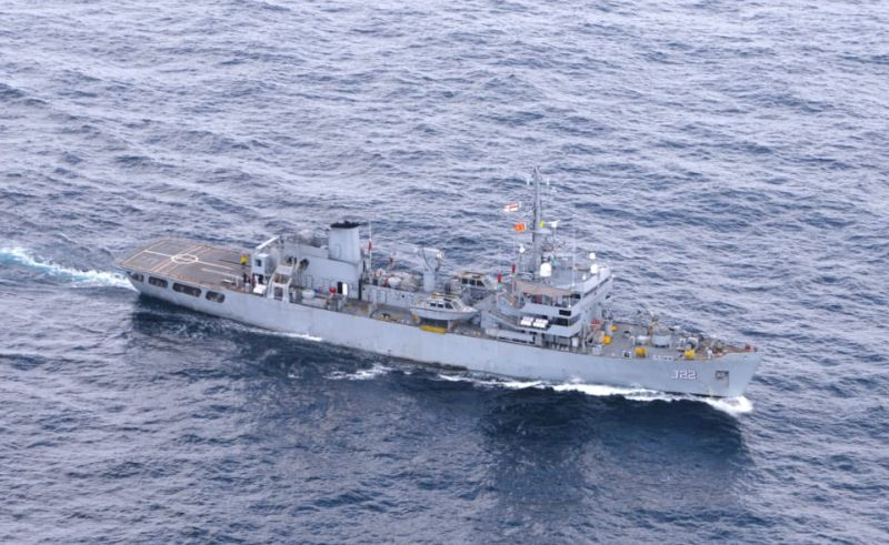 Indian Navy Ship Completes 558-Miles-Survey around X-Press-Pearl - India In Sri Lanka