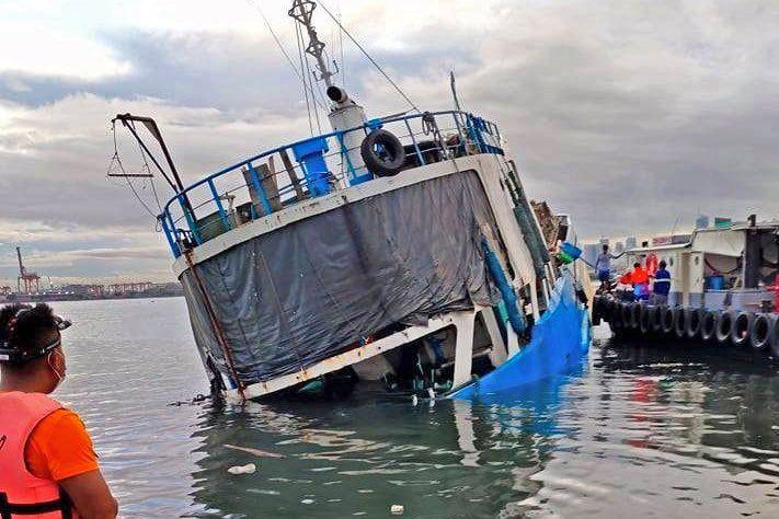MV Palawan Pearl - sinking