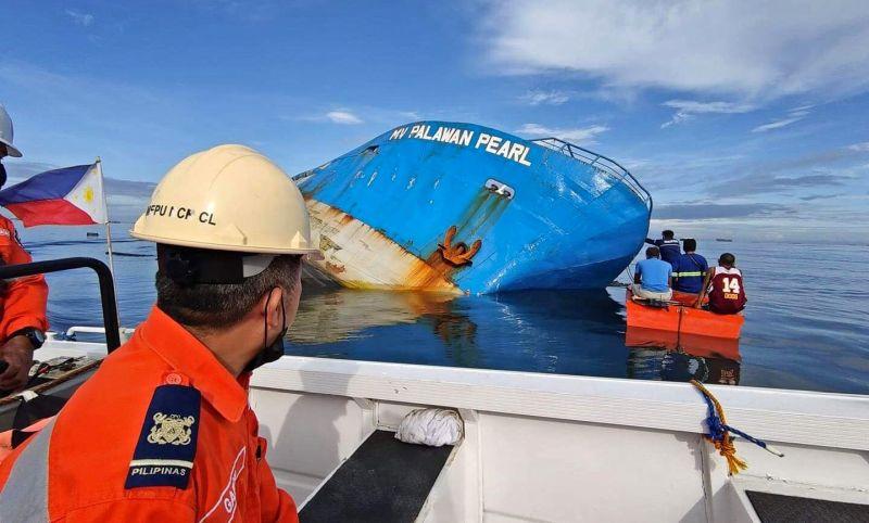 MV Palawan Pearl sinking