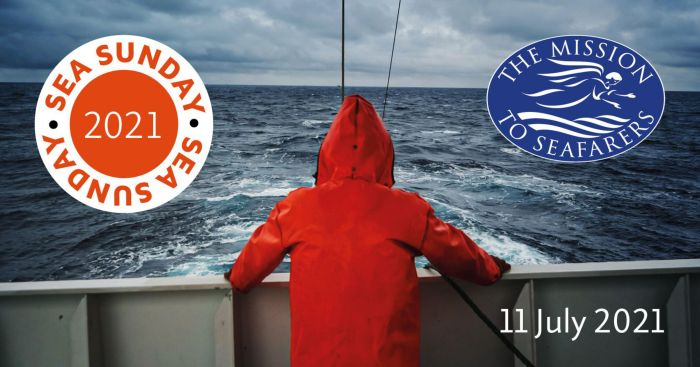 Mission To Seafarers To Celebrate Seafarers During Global Sea Sunday Service - poster