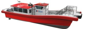North Star Renewables and Chartwell Marine - daughter craft render
