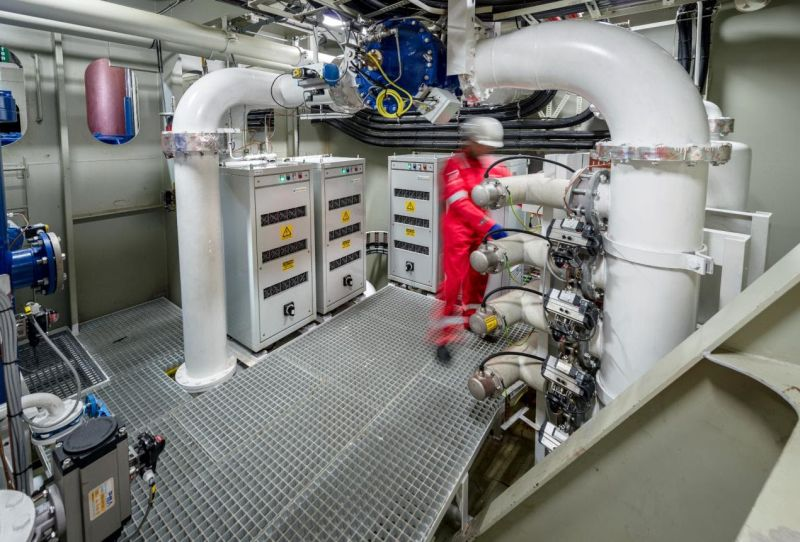 Optimarin has developed digital tool OptiLink to optimise performance of its ballast water treatment system. Credit - Optimarin