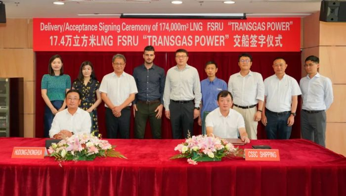 TRANSGAS POWER delivery