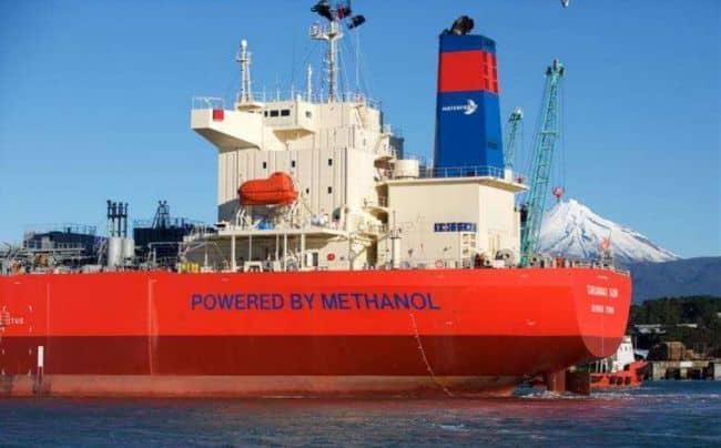 """Taranaki Sun"" Methanol Dual-fueled Methanol Carrier Vessel"