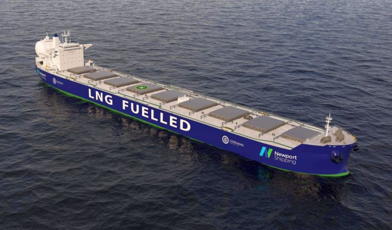 The use of a dual-fuel LNG engine can provide a commercially robust solution compared with alternative fuel technologies. Credit - Newport Shipping