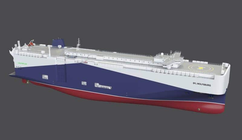 Volkswagen Group continues switch to low-emission logistics with LNG ships